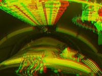 3D-Anaglyphenbild des