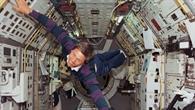 Astronaut Ulrich Walter während der D2%2dMission