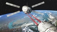 Annäherung an die Raumstation