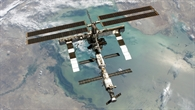 Die ISS über dem Kaspischen Meer, August 2005