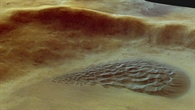 Dünenfeld im Argyre Planitia Krater
