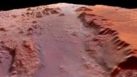 """Eos Chasma, die """"Schlucht der Morgenröte"""""""