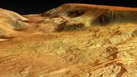 Ophir Chasma, ein nördliches Paralleltal der Valles Marineris