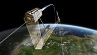 Die Zwillingssatelliten TerraSAR%2dX und TanDEM%2dX im Formationsflug