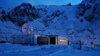 2005: Telemetrie%2d und Trackingstation der Mobilen Raketenbasis