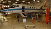 Missionsvorbereitung in der DLR%2dWartungshalle