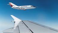 Forschungsflugzeug Falcon des DLR