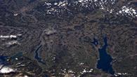 Raumfrachter Cygnus über dem Bodensee