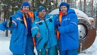Die Crew der Expedition 40 beim Überlebenstraining