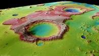 Tiu Vallis %2d Perspektivische Ansicht von Süden nach Norden