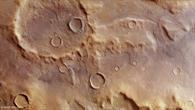 Die abwechslungsreiche Landschaft der Hellespontes Montes auf dem Mars
