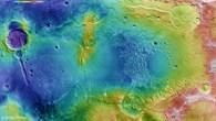 Topographische Bildkarte des Atlantis%2dBeckens