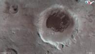 Der Krater Rabe in 3D