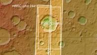 Die Lage des Kraters Rabe
