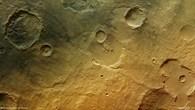 Ablagerungen der Tagus Valles in Hesperia Planum