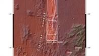 Übersichtskarte über das Gebiet von Claritas Rupes