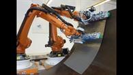 Kooperierende Roboter beim ZLP Augsburg