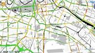 Berliner Verkehr an einem Freitag Nachmittag