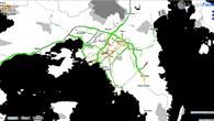 Verkehrslage in Athen