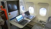 Arbeitsplätze im Flugzeug
