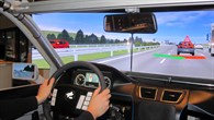 interactIVe%2dTestfahrten im Simulator