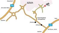 DLR Jülich - Anfahrt