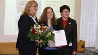 Anja Frank gehört zu den TOP 25 Ingenieurinnen, die der deutsche ingenieurinnenbund in diesem Jahr für ihre Arbeit auszeichnete.