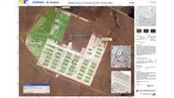 Kartierung: Flüchtlingscamp in Jordanien
