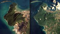 Banda Aceh, Sumatra/Indonesien: Nachher (2005) %2d Heute (2014)