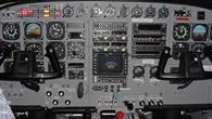 Im Cockpit der Cessna 208B