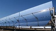 Die Sonne nutzen: Parabolrinnenanlage in Almería (Südspanien)