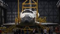 Das Space Shuttle Endeavour beim so genannten Roll%2dout im Februar 2011