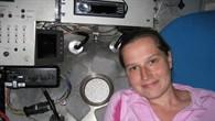 Kristina Beblo im Mini%2dU%2dBoot ALVIN