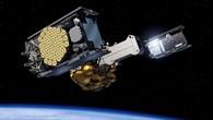 Die zwei Galileo%2dNavigationssatelliten sind fast am Ziel: Etwa vier Stunden nach dem Start erreichen sie ihre Umlaufbahn in 23 222 Kilometern Höhe. Dazu werden die In%2dOrbit Validation%2dSatelliten gleichzeitig von der Fregat%2dTrägereinheit getrennt.