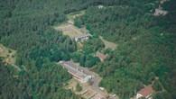 Luftbildaufnahme des DLR%2d Standorts Trauen von 1989