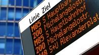 Der Reiseassistent wird auch mit elektronischen Anzeigetafeln verknüpft sein
