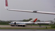 DLR%2dForschungsflugzeug Falcon in Aalborg