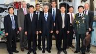 Südkoreanische Delegation zu Besuch im DLR