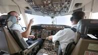 Im Cockpit während der Versuchsflüge