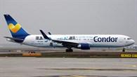Versuchsflugzeug für einen Tag: Boeing 767%2d300 der Condor.