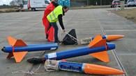 Vorbereitung der Raketen