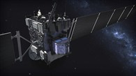 Die Raumsonde Rosetta auf dem Weg zum Kometen 67P/Churyumov-Gerasimenko