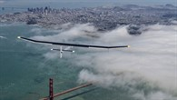 Erster SolarImpulse%2dPrototyp HB%2dSIA über San Francisco