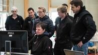 Das Messteam des DLR%2dInstituts für Aeroelastik
