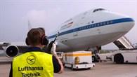 Ankunft bei der Lufthansa Technik in Hamburg