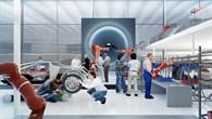 Das Fahrzeug von morgen im Blick: der Forschungscampus ARENA2036