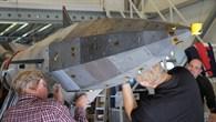 Montage des Flugkörpers SHEFEX II
