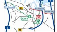 DLR Hamburg %2d Anreise (Süd)