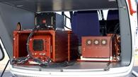 Modulares Experimentalsystem im Innern des DLR%2dForschungshubschraubers FHS