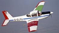 Das einmotorige Flugzeug LFU 205